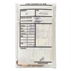 MMF Industries Cash Transmittal Bags, Self-Sealing, 6 x 9, Clear, 100 Bags/Box