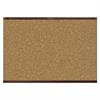 Prestige 2 Magnetic Cork Bulletin Board, 72 x 48, Mahogany Frame