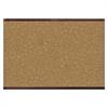 Quartet Prestige 2 Magnetic Cork Bulletin Board, 36 x 24, Mahogany Frame