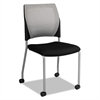 TCE Series Mesh Back Guest Chair, Black, 2/Carton