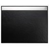 Artistic Architect Line Desk Pad, 24 x 19, Black/Silver