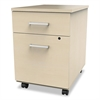 Trento Line Mobile Pedestal File, Box/File Drawer, Oatmeal