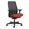 HON Endorse Mesh Mid-Back Work Chair, Poppy/Black