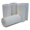 "Single-Ply Thermal Paper Rolls, 4 3/8"" x 127 ft, White, 50/Carton"