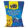 udi's Gluten Free Ancient Grain Crisps, Sea Salt, 4.93 oz Bag