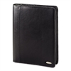 Samsonite Zip Bi-Fold Padfolio, 8 1/2 x 11, Black