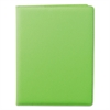 Samsill Fashion Padfolio, 8 1/2 x 11, Lime PVC