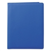 Samsill Fashion Padfolio, 8 1/2 x 11, Blue PVC