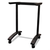 Alera Valencia Series Training Table T-Leg Base, 24-1/2w x 19-3/4d, Black