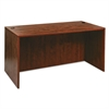 Alera Alera Valencia Series Straight Desk Shell, 59 1/8 x 29 1/2 x 29 5/8, Med Cherry