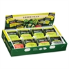 Bigelow Green Tea Assortment, Tea Bags, 64/Box, 6 Boxes/Carton
