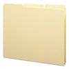 Smead Recycled Tab File Guides, Blank, 1/3 Tab, 18 Pt. Manila, Letter, 100/Box