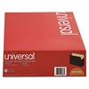Universal 5 1/4 Inch Expansion File Pockets, Straight, Legal, Redrope/Manila, 10/Box