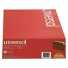 Universal 1 3/4 Inch Expansion File Pockets, Straight Tab, Legal, Redrope/Manila, 25/Box