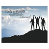"Advantus ""Unity"" Silhouette Canvas Motivational Print, 22 x 28"
