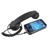 Softalk Retro Corded Handset, Black