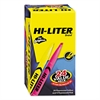 HI-LITER Pen-Style Highlighter, Chisel Tip, Assorted Fluorescent Colors, 24/Pack