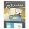 White Laser/Inkjet Internet Shipping Labels, 5 1/2 x 8 1/2, 200/Box