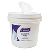 Sanitizing Wipes Bucket Dispenser,11.625x11.625x10.125, 1200/1500 Wipe Capacity