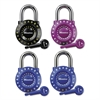 "Master Lock Set-Your-Own Combination Lock, Steel, 1 7/8"" Wide, Assorted"
