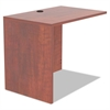 Alera Valencia Series Reversible Return/Bridge Shell, 35w x 23 5/8d, Med Cherry