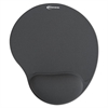 Innovera Mouse Pad w/Gel Wrist Pad, Nonskid Base, 10-3/8 x 8-7/8, Gray