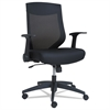 EB-K Series Synchro Mid-Back Mesh Chair, Black/Black Frame