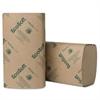 Wausau Paper EcoSoft Singlefold Towels, Natural, 250 Towels/Pack, 16 Packs/Carton