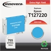 Innovera Remanufactured T127220 (127) Ink, Cyan