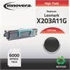 Remanufactured X203A11G (X204) High-Yield Toner, Black