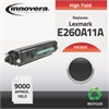 Innovera Remanufactured E260A11A (E260) High-Yield Toner, Black