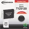Innovera Remanufactured T125120 (125) Ink, Black