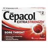 Cepacol Extra Strength Numbing Lozenge, Cherry, 16/Box