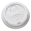 Dixie Sip-Through Dome Hot Drink Lids for 10 oz Cups, White, 100/Pack, 1000/Carton