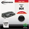 Innovera Remanufactured CF280X (80X) High-Yield Toner, Black