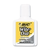 BIC Wite-Out Quick Dry Correction Fluid, 20 ml Bottle, White, 1/Dozen
