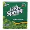 Irish Spring Bar Soap, Clean Fresh Scent, 3.75oz, 18/Carton