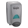 GOJO DPX Dispenser, Holds 2L Refills, Gray Metallic, 6.813 x 11.875 x 5.125