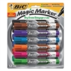 Magic Marker Low Odor & Bold Writing Dry Erase Marker, Chisel, Assorted, Dozen
