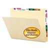 Smead Conversion File Folders, Straight Cut Top Tab, Letter, Manila, 100/Box