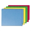 Smead Colored File Folders, Straight Cut Reinforced End Tab, Letter, Assorted, 100/Box