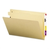 Smead Manila End Tab Classification Folders, Legal, Four-Section, 10/Box