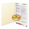 Smead Manila Folders, One Fastener, End Tab, 11pt, Letter, Manila, 50/Box