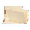 W-Fold Manila Expansion Folders, Two Fasteners, End Tab, Legal, Manila, 50/Box