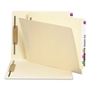 Manila Folders, Two Fasteners, End Tab, Letter, 11pt Manila, 250/Box
