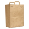 General 1/6 BBL Paper Grocery Bag, 70lb Kraft, Standard 12 x 7 x 17, 300 bags
