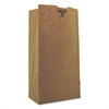 General #12 Paper Grocery Bag, 50lb Kraft, Heavy-Duty 7 1/16 x 4 1/2 x 13 3/4, 500 bags