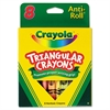 Triangular Crayons, 8 Colors/Box