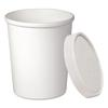 SOLO Cup Company Flexstyle Double Poly Food Combo Pack, 32 oz, White, 25/Pack, 10 Packs/Carton