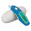 Deluxe Instant Ear Thermometer, Digital, Blue